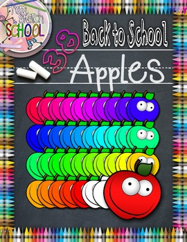 38 Back to School Apples {From Sketch to School}