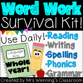 38 Weeks of Printables!!! A Year of Activities and Word Wo