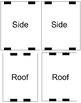 3D Cutout House Template