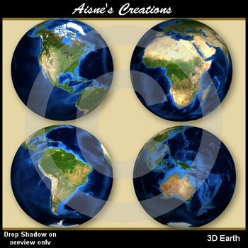 3D Earth Graphics Pack