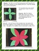 3D Poinsettia Craft