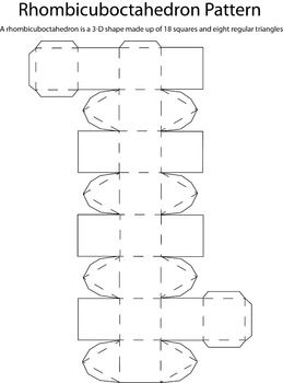 3D Rhombicuboctahedron Pattern