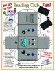 3D Robots! Folded Paper Crafts (Set of 3)