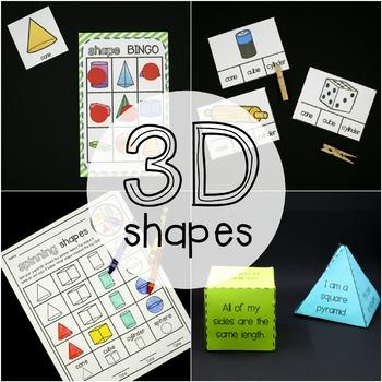 3D Shape Activity Pack