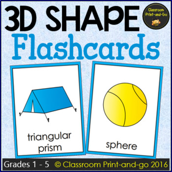 3D Shape Flashcards