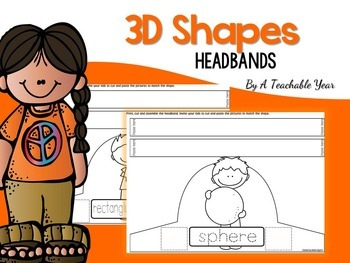 3D Shape Headbands