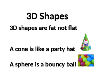 3D Shape Poem