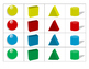 3D Shape and Color Bingo Preview