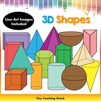 3D Shapes Clipart