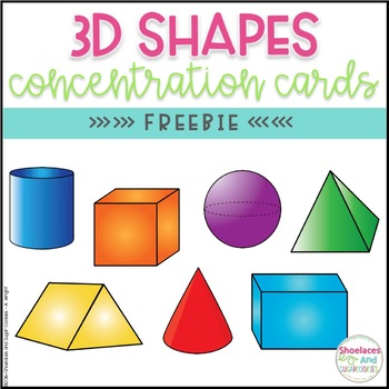 FREE 3D Shapes Game - Concentration