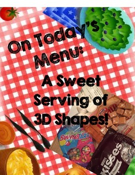 3D Shapes Snack Activity