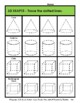 3D Shapes - Trace the Shapes - Grades 3-6 (3rd-6th Grade)