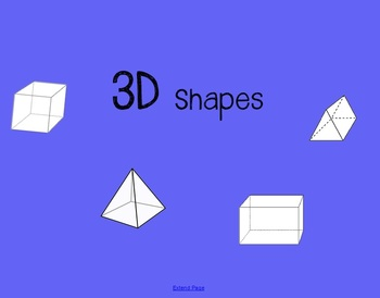 3D Shapes - Vertices, Edges, and Faces COMMON CORE  2.G.1