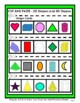 Sorting 3D Shapes and 2D Shapes - Cut and Paste - Grades 2