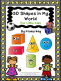 3D Shapes in My World FOR LITTLE KIDS