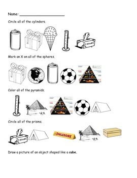 3D Shapes with Real World Objects