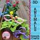3D Speech Therapy Crafts BUNDLE {articulation language cra