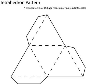 3D Tetrahedron Pattern