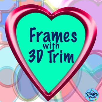 Clip Art: Frames with 3D trim, Graphics and Clip Art Frame