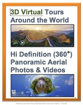 3D Virtual Tours Around the World