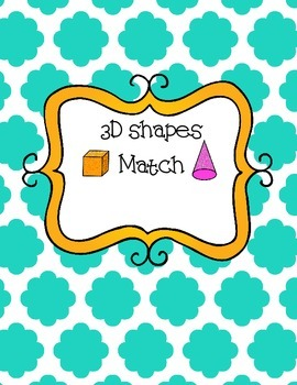 3D shape matching game