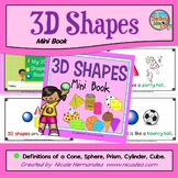 Shapes - {3D Shapes Poem Mini Book}