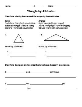 3G.1 Triangle Attributes