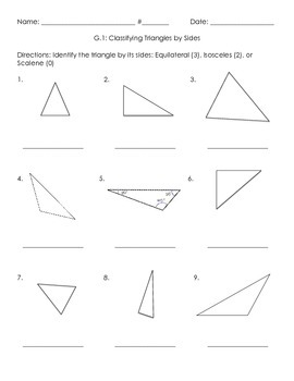 3G.1 Triangles by Sides