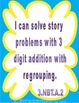 3.NBT.1, 3.NBT.2 Three Digit Addition with Regrouping Stor