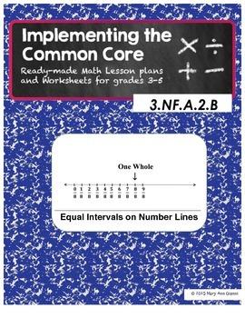 3.NF.A.2.B Equal Intervals on Number Lines
