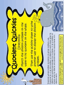 3.OA.2 Third Grade Common Core Worksheets, Activity, and Poster