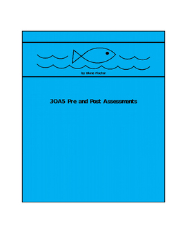 3OA5 Pre and Post Assessment Bank