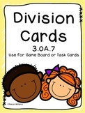 3.OA.7 Division Task Cards