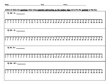 3.OA.A.2 Division on a Number Line