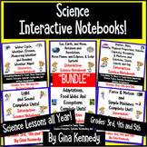 Six Interactive Science Notebooks! SCIENCE BUNDLE