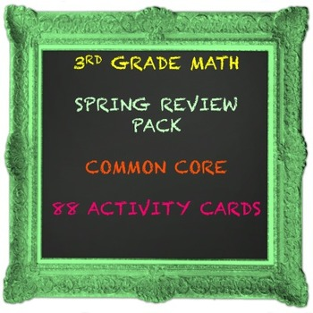 3RD GRADE MATH COMMON CORE REVIEW PACK
