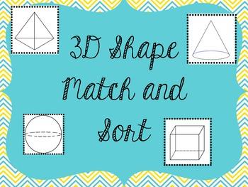 3d Shape Match and Sort