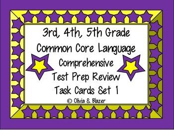 3rd, 4th, 5th Grade Common Core Comprehensive Language Rev