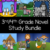 3rd - 4th Grade Reading Level Interactive Notebook and Act