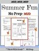 3rd Grade Math:  3rd Grade Reading: Summer Review