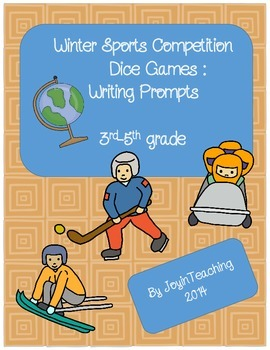 3rd-5th grade: Writing Prompts- Winter Sport Competition D