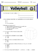 3rd - 8th Grade Volleyball Unit Assessments & Word Wall (D