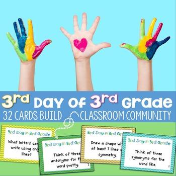 3rd Day in 3rd Grade