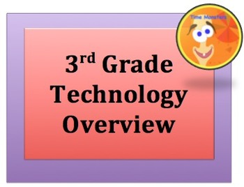 3 rd GRADE TECHNOLOGY OVERVIEW
