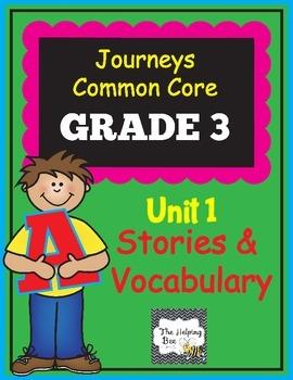 3rd Grade CCSS Journeys LA Common Core Lesson Plans Unit 1