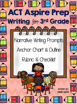 3rd Grade ACT Aspire Writing Test Prep - Let's Get Writing!