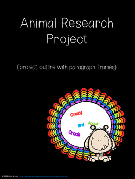 Animal Research Report