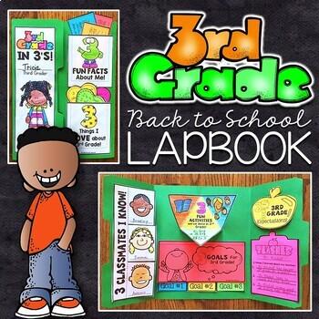 3rd Grade Back to School Lapbook