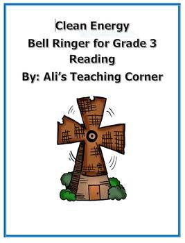 3rd Grade Bellringer- Clean Energy