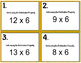 3rd Grade CCSS Math Task Cards - Word Problems & Distribut